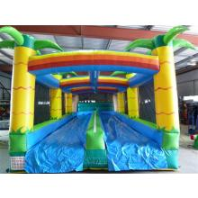Adult Duel Lane Waterslide Tropical front shotP1070833 Small