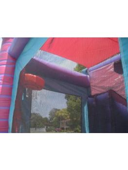 Purple Combo Basketball hoop roof cover3
